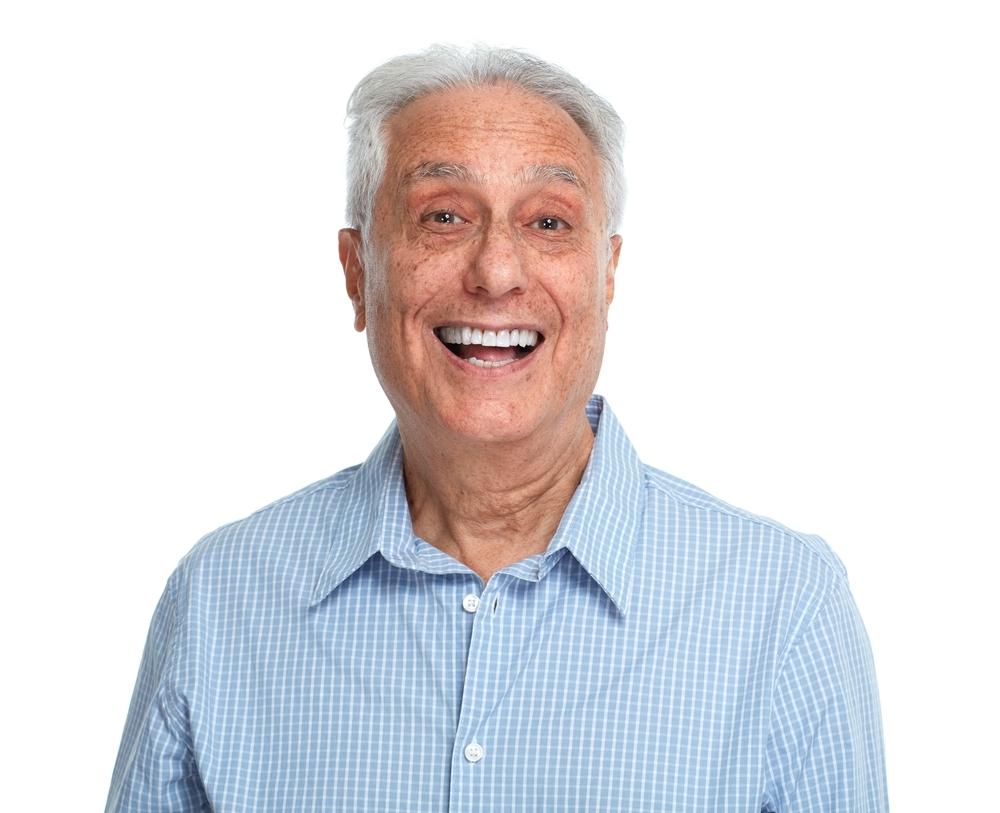 Smiling,Senior,Man.